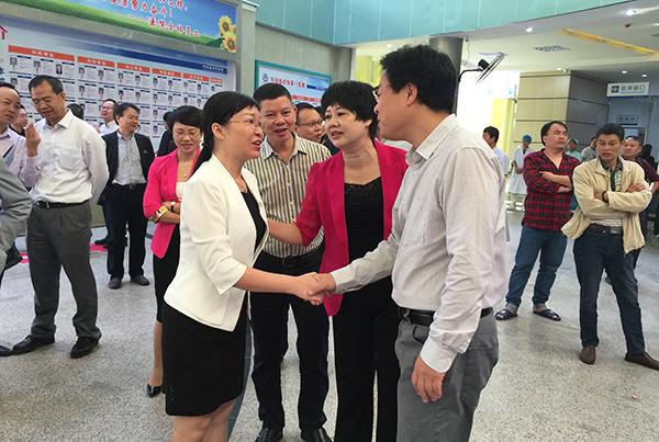 广东三九脑科医院与阳西县医院集团成立广东